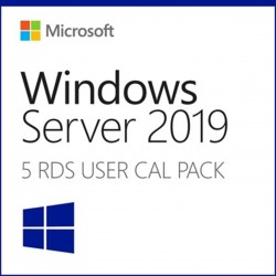 Microsoft windows server 2019 5 licencias