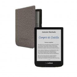 Pocketbook color ereader 6pulgadas 16gb plata